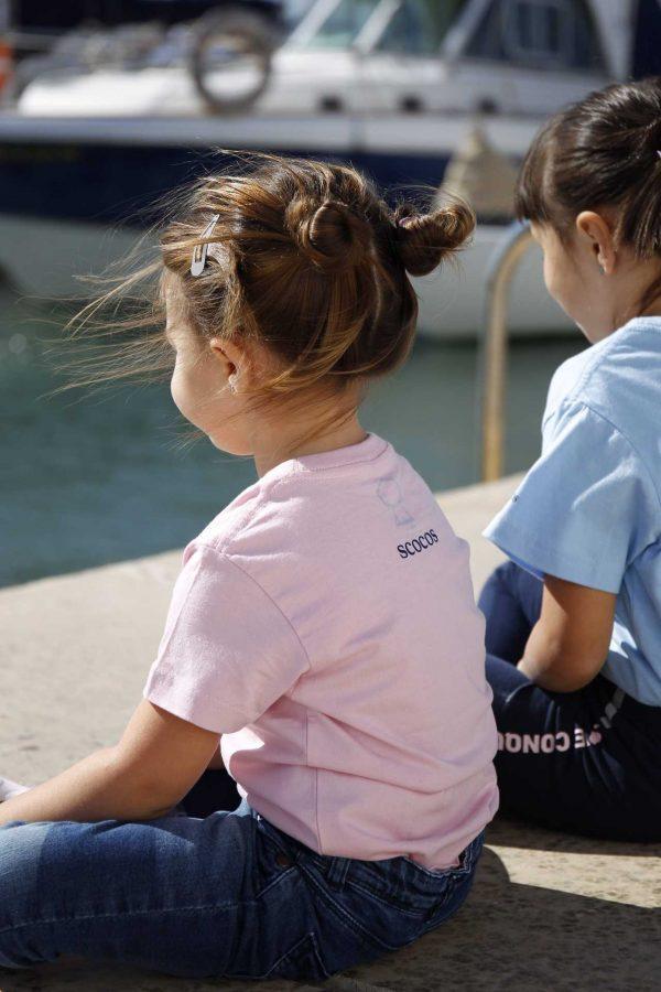 Camisetas KIDS Rosa Azul