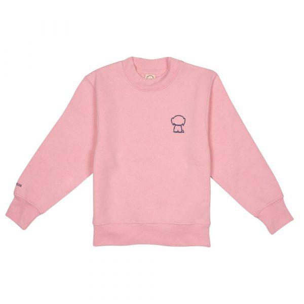 Sudadera rosa KIDS unisex front