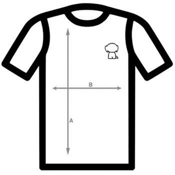 Tallaje camisetas SCOCOS